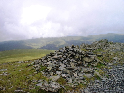 The top of Atkinson Pike