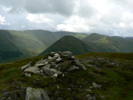 The top of Beda Fell looking towards The Nab