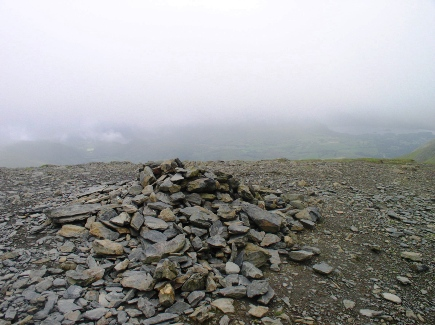 Blencathra's summit cairn