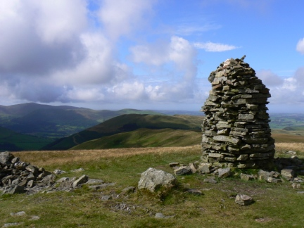 The top of Broom Fell