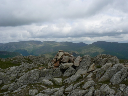 The top of Codale Head looking towards the Eastern Fells