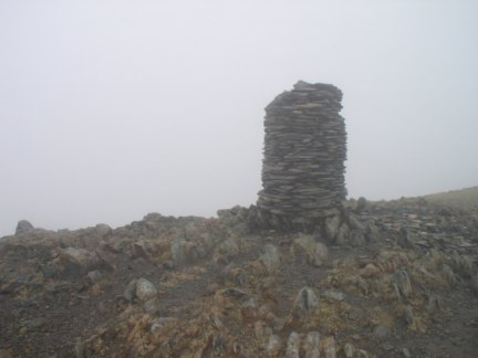 The top of Dale Head