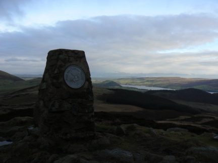 The top of Gowbarrow Fell