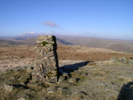 The top of Grayrigg Common