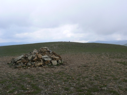 The top of Great Dodd