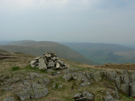 The top of Grey Crag