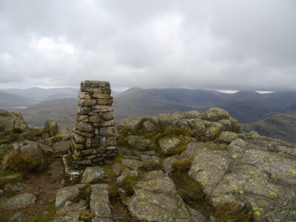 The top of Harter Fell