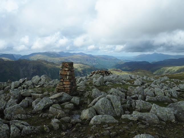 The summit of High Raise, one of my favourite views in the whole of the Lake District