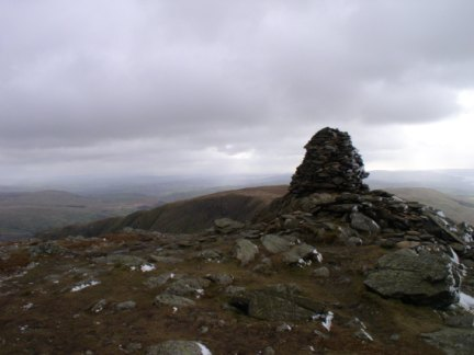 The top of Ill Bell