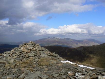 The top of Ladyside Pike