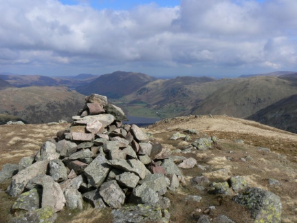 The top of Middle Dodd