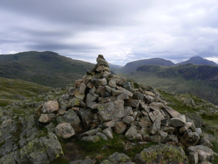 The top of Middle Fell