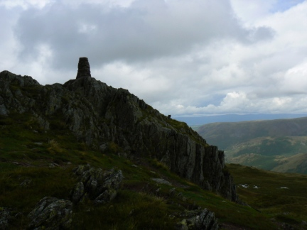 The summit of Place Fell