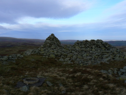 The summit of Seat Robert