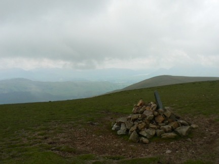 The top of Stybarrow Dodd