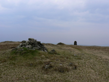 The top of Tarn Crag