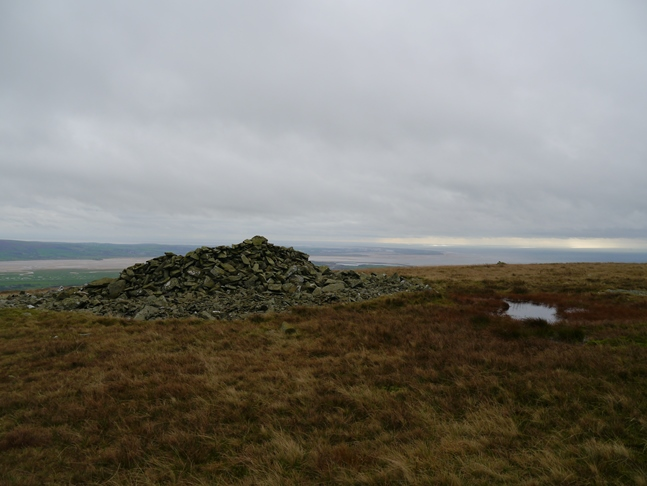 The top of White Combe