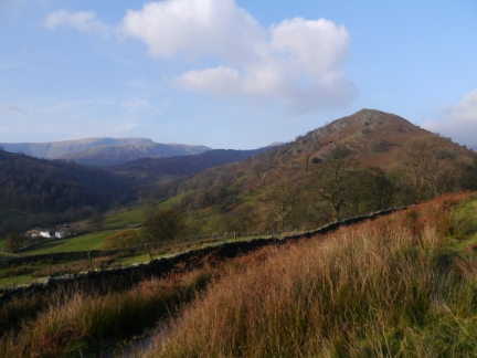 Looking back at Troutbeck Tongue