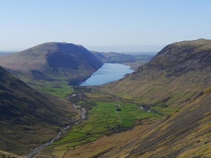 Wasdale from just below Beck Head