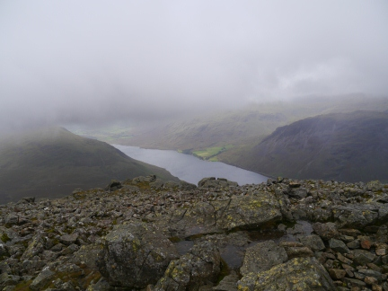 A brief glimpse of Wastwater