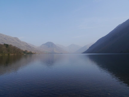 A hazy Wastwater