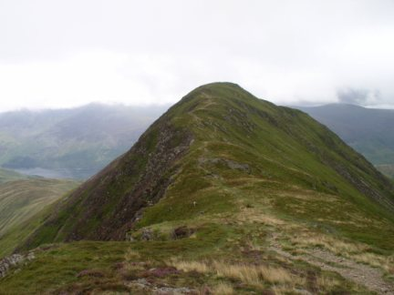 Looking back to Whiteless Pike