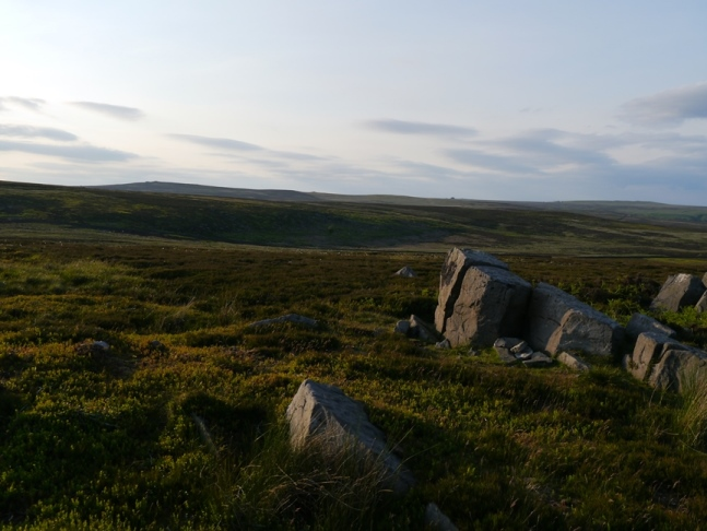 The Even Stones looking towards Pock Stones Moor