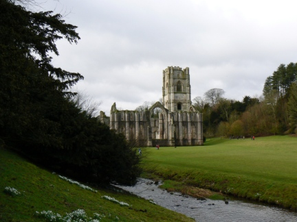 Fountains Abbey and the River Skell