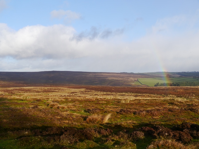 Rainbow over Kirkby Malzeard Moor