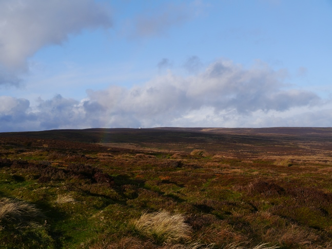 Looking towards the shooting house high on Kirkby Malzeard Moor