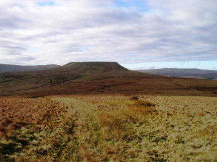 Little Whernside - one of the more shapely summits in Nidderdale
