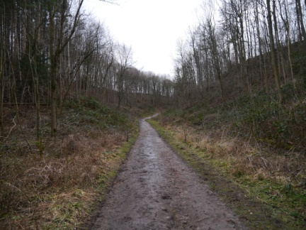 The path up Mackershaw Trough
