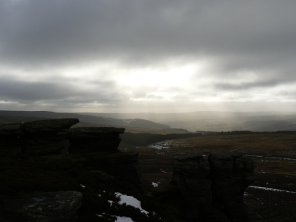 Looking south across Nidderdale from Sypeland Crags