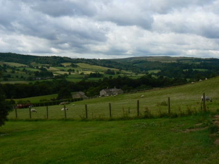 Looking up Nidderdale from Glasshouses