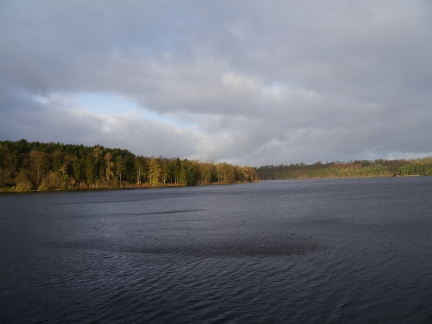 Swinsty Reservoir from the dam