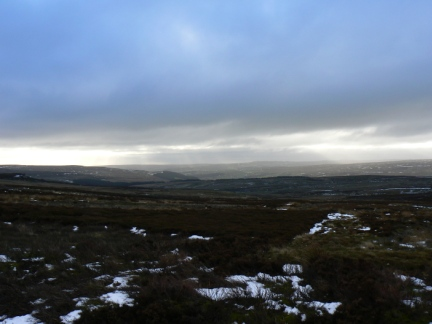 Looking south across Nidderdale towards Cold Stones