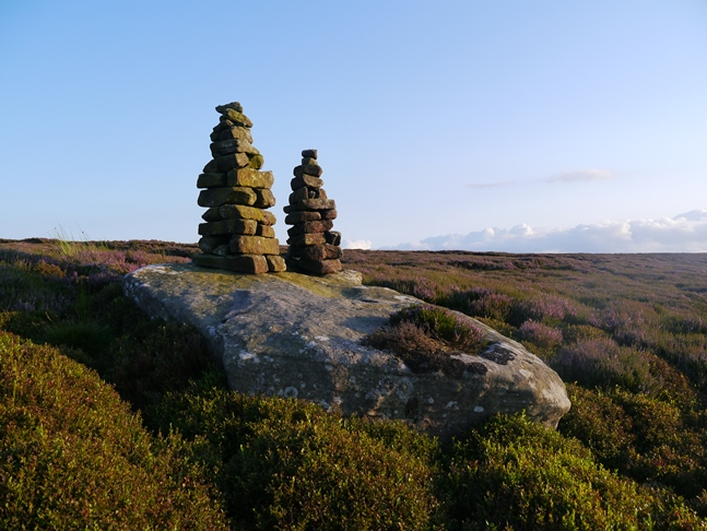 Another view of the Twin Standing Stones