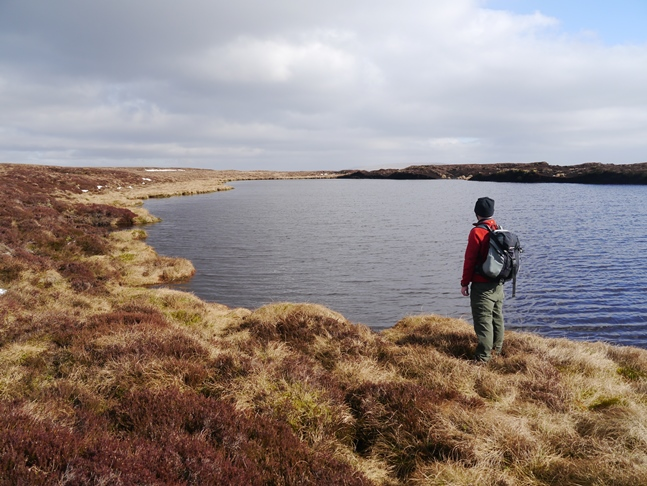 At the unnamed tarn south of Little Rundale Tarn