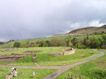 Barcombe Hill from Vindolanda