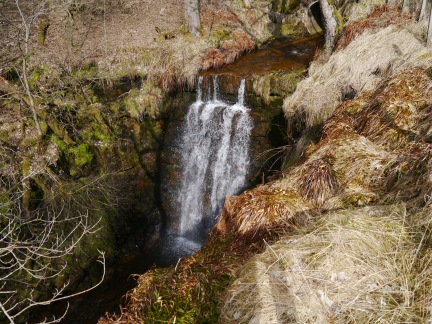 A delightful waterfall in Blagill Burn