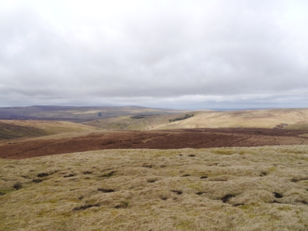 The view towards Grey Nag from Bullman Hills