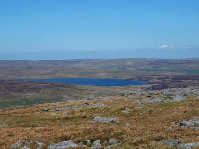 Cow Green Reservoir from Mickle Fell