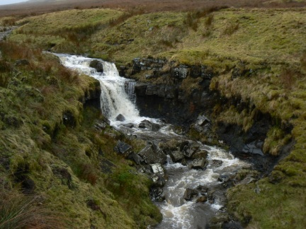 A waterfall on Crook Beck