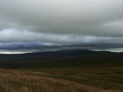 Cross Fell looked particularly moody