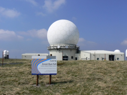 The Great Dun Fell Radar Station