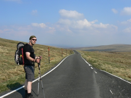 The highest tarmaced road in England