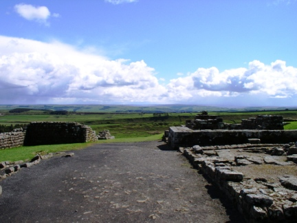 Looking south from Housesteads