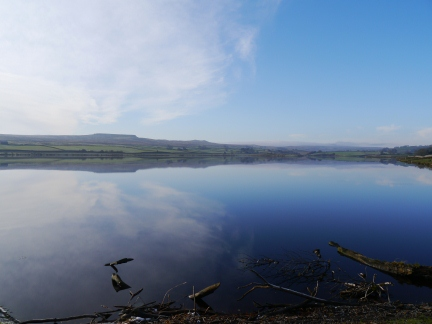 Hury Reservoir in Baldersdale