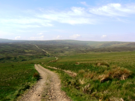 Melmerby Fell and the Maiden Way