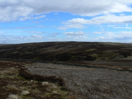 Middlehope Moor from Stang End